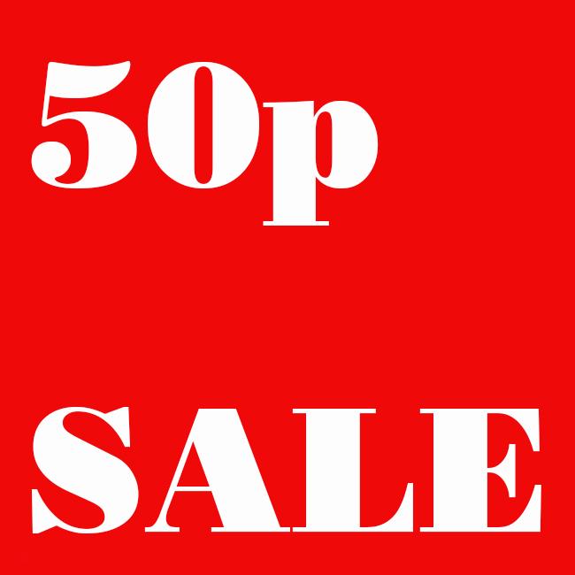 50p sale