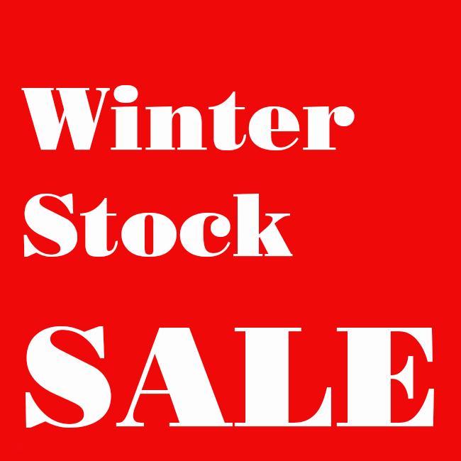 Winter Stock Sale