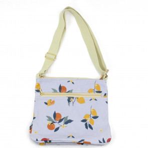 Fruit Tree Cross Body Bag Grey