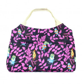 Bright Bird Day Bag Purple