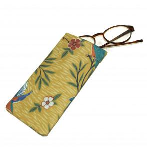 Kingfisher Glasses Case Yellow