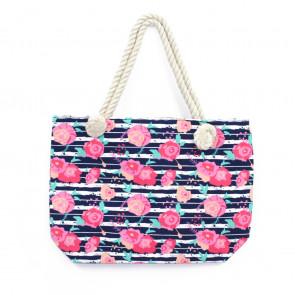 Kerenza Rope Bag Blue