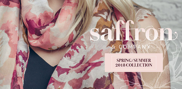 Saffron & Co organic cotton scarves