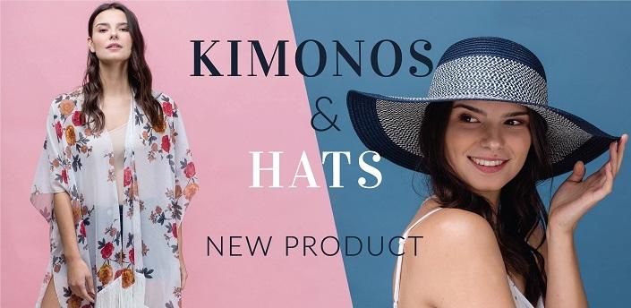 Kimonos and hats