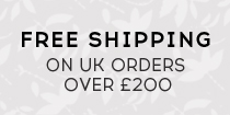 Free shipping on UK orders over 200 pounds